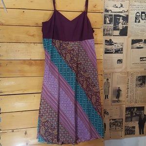 Colorful georgous dress by Lane Bryant size 24